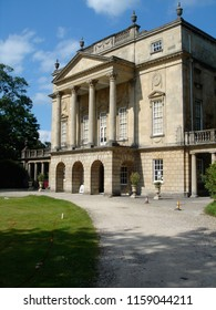 Classical Georgian house of Bath in Somerset England  Architecture