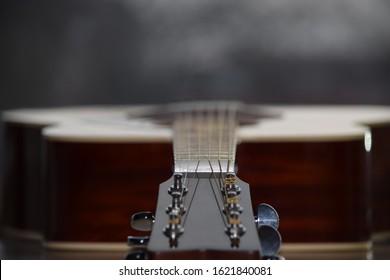 Classical music guitar in close up - HAASTLER
