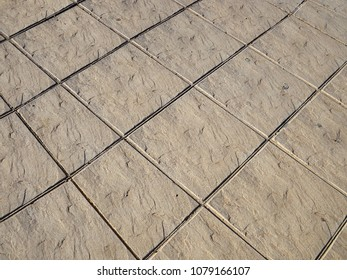 Classical simple handmade design gray street outdoors ceramic tiles floor