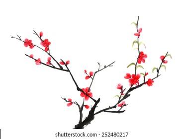 classical view -- plum blossom