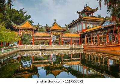 Classical-style garden in Guangzhou,China