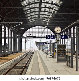 classicistical railway station
