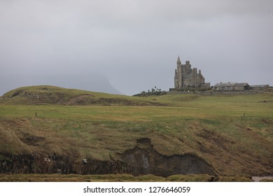 Classiebawn Castle is a country house built for Viscount Palmerston on what was formerly a 10,000-acre estate on the Mullaghmore peninsula near the village of Cliffoney, County Sligo, Ireland.