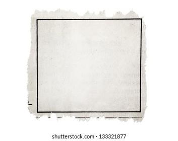 Klassifizierte Werbung, Teil der Zeitung
