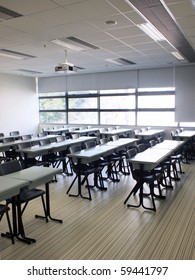 Classroom in campus of university