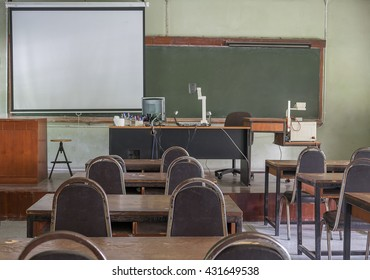 A classroom for educational purposes.