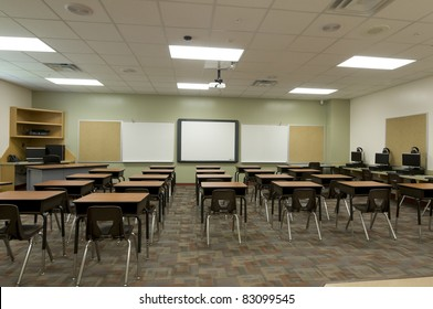 Classroom at Public Middle School