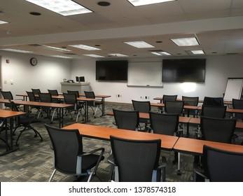Classroom ready to teach