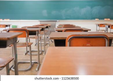 Classroom of school