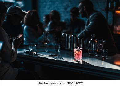 classy cocktail bar