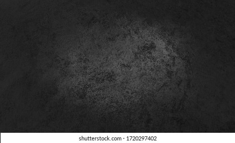 classy dark black concrete background with spacing for text.