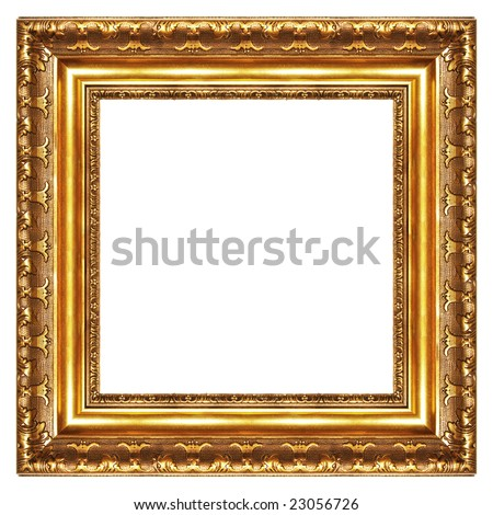 Classy Gilded Frame Square Shape Stock Photo (Edit Now) 23056726 ...