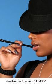 Classy Smoking Woman
