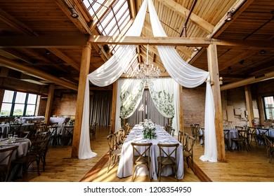 Classy wedding setting.Table setting