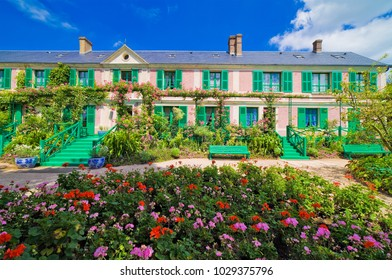 Claude Monet House, Giverny, Normandy, France