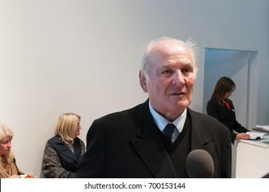 Claus Hipp, german business man, at the Frankfurt Bookfair 2012, Frankfurt am Main