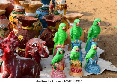 clay artefacts from a rajasthan village craftsman