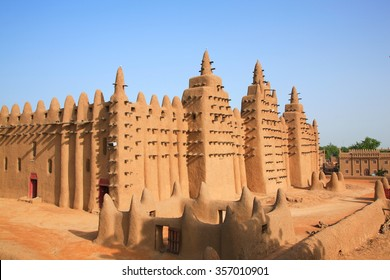 Clay mosque in Mali