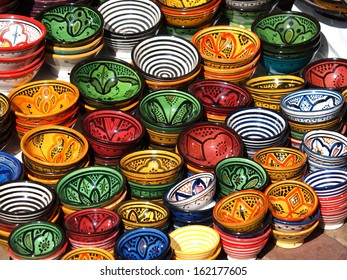 clay pots on the streets of Marrakesh