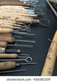 clay sculpting tools