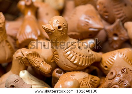 Clay Toys Udmurt Style Stock Photo Edit Now 181648100 Shutterstock