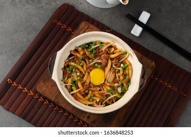 Claypot Silver Needle Noodles Loh Shu Fun