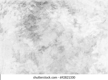 Clean abstract background from white coarse canvas texture of paint smears. Image with copy space. Vintage or grungy white backdrop of natural cement or stone old texture as a retro pattern wall