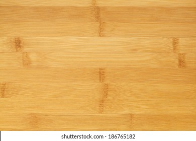 Clean Bamboo Wood Cutting Board Background with Copy Space.