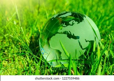 Konzept für saubere Energie und Klimawandel