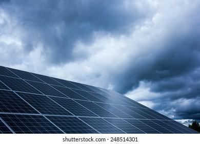 clean energy: solar cell