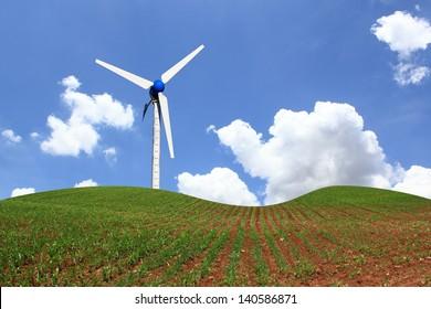 Clean energy, wind energy.