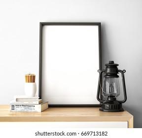 Clean frame mockup