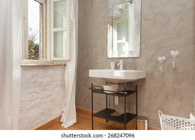 clean fresh bathroom