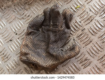 A clean glove off a lazy worker