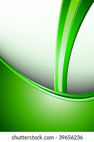 Clean Green Business Background