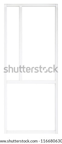 glass window pane clear clean modern office glass window pane isolated on white background interior house element for design clean modern office glass window pane stock photo edit now