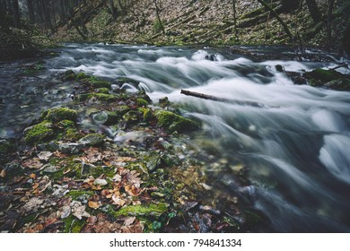 Clean mountain stream