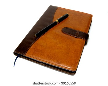 clean notebook for writing the pen