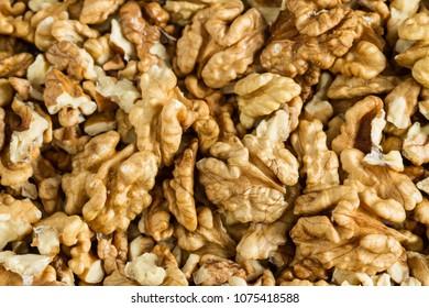 Clean organic raw kernel walnuts