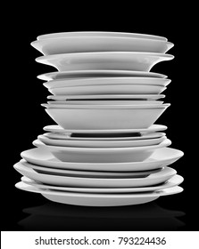 Clean plates stack