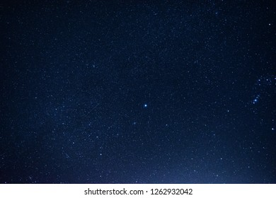 Clean rare sky night , milky way in background. Beauty background for desktop of PC, Near REGGIO CALABRIA , ITALY.  - Image + STAR and SPAce