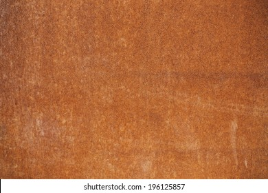 Clean Rusted Metal Background Texture