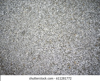 clean smashed gravel