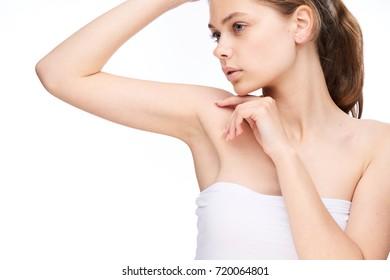 clean, well-groomed woman's skin, spa procedure, beauty