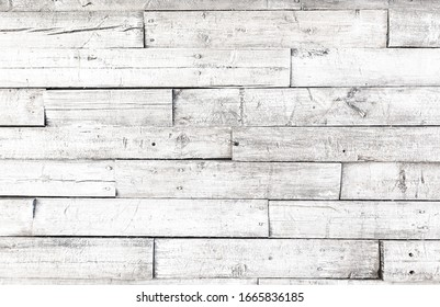 Clean white rustic wooden background
