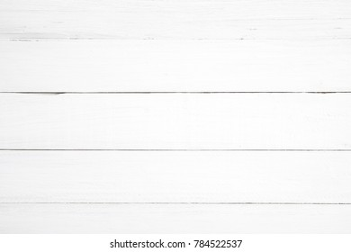 Clean White Wood Background   Wooden Plank Painted In White Color.