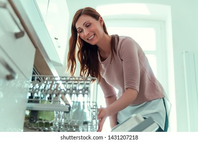 cleaning after eating in dish washer