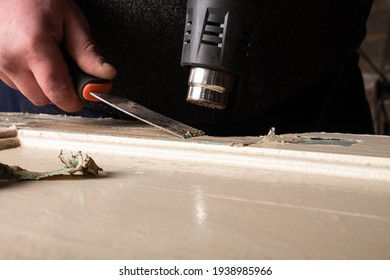 cleaning doors from old paint,restoration and repair of wooden furniture.