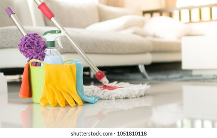 cleaning equipment in home