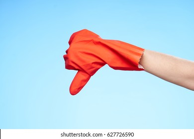 cleaning order gloves cleanser